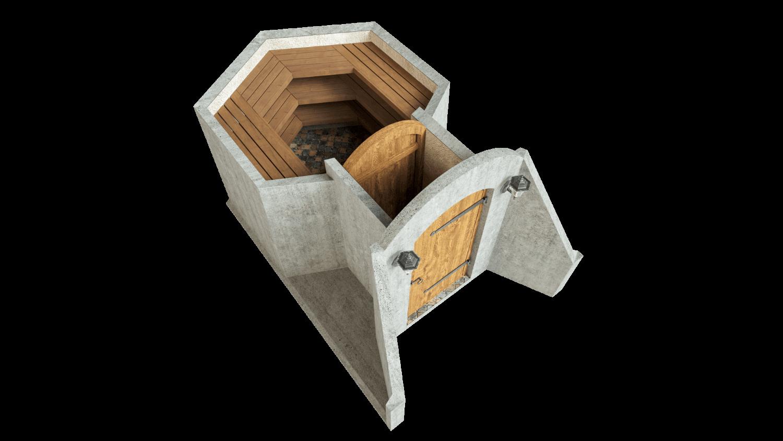 Cellar 4.5 m² STANDARD PACKAGE