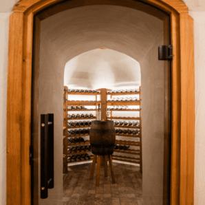 Wine cellar in Finland